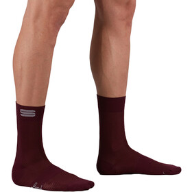 Sportful Matchy Socks, red wine